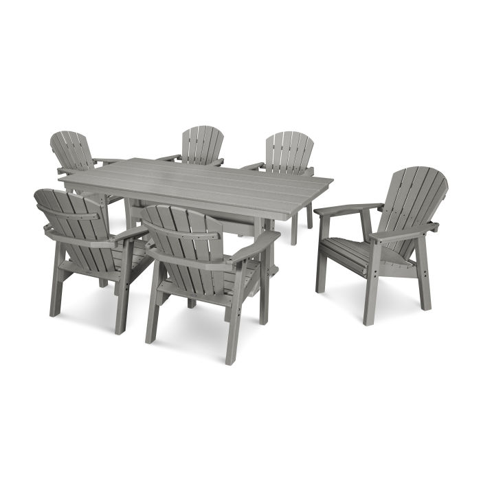 7 Piece Seashell Dining Set