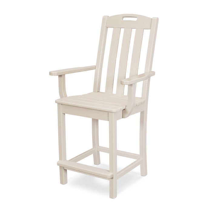Yacht Club Counter Arm Chair