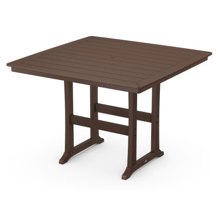 """59"""" Bar Table in Mahogany"""