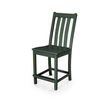 Vineyard Counter Side Chair in Green