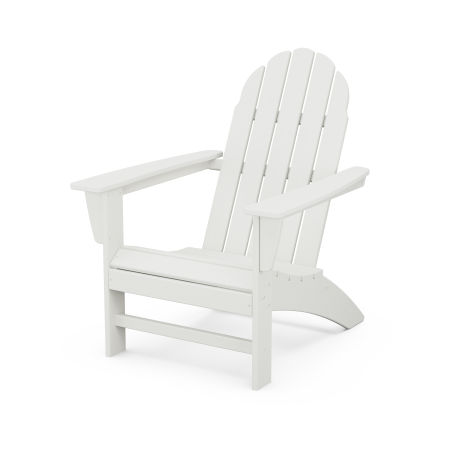 Vineyard Adirondack Chair in Vintage White