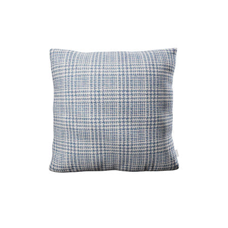 "22"" Throw Pillow in Scottkins Houndstooth"