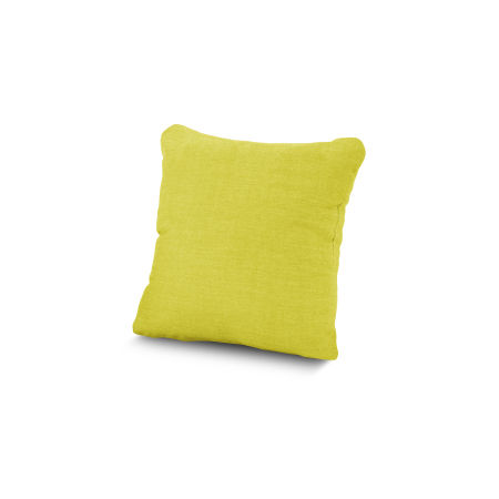 "16"" Outdoor Throw Pillow by POLYWOOD® in Cast Citrus"