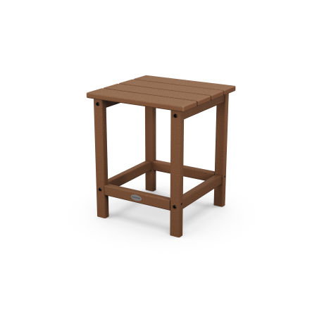 """Long Island 18"""" Side Table in Teak"""