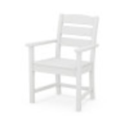 Lakeside Dining Arm Chair in White