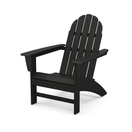 Vineyard Adirondack Chair in Black
