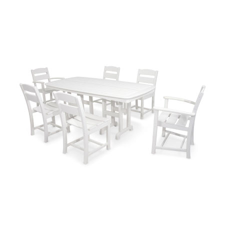 Classics 7-Piece Dining Set in White