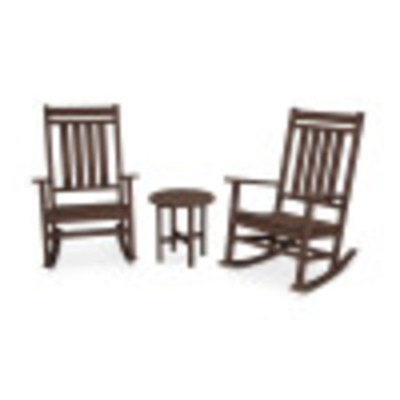 Estate 3-Piece Rocking Chair Set in Mahogany