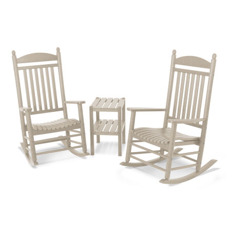 Jefferson 3-Piece Rocker Set in Sand