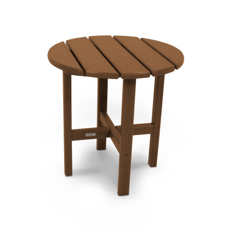"18"" Round Side Table by Ivy Terrace™ in Teak"