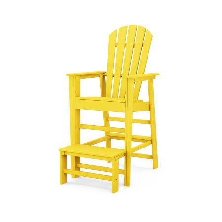 South Beach Lifeguard Chair in Lemon