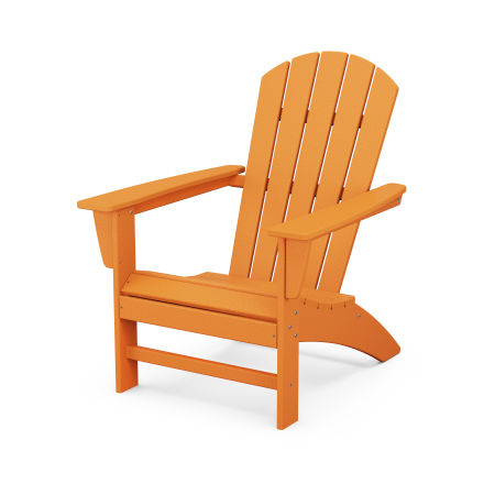 Nautical Adirondack Chair in Tangerine