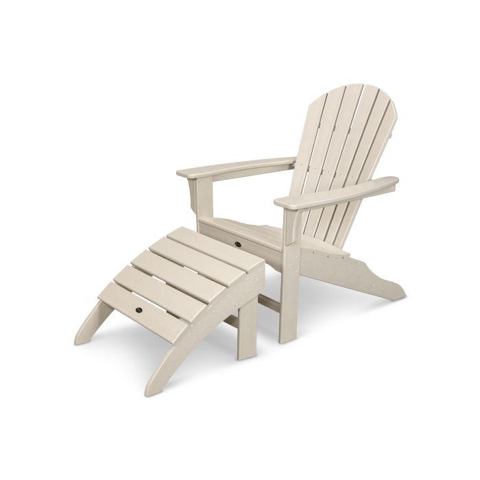 Yacht Club Shellback 2-Piece Adirondack Seating Set