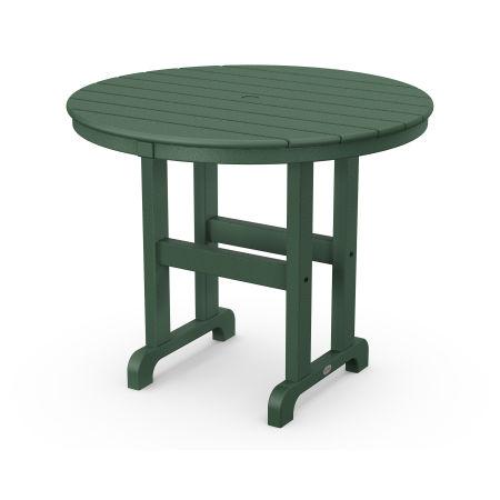 "La Casa Café Round 36"" Dining Table in Green"