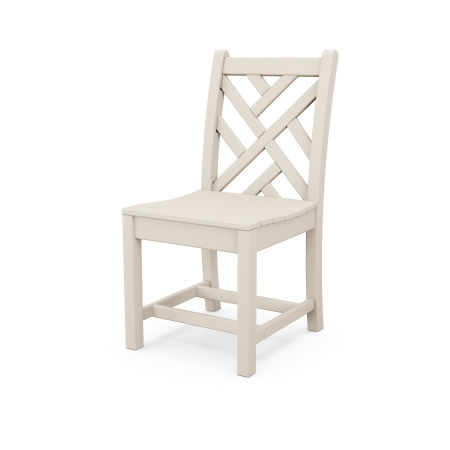 Chippendale Dining Side Chair in Sand