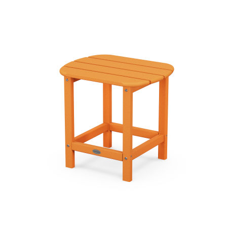 "18"" Side Table in Tangerine"