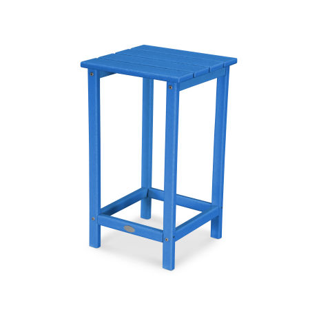 "Long Island 26"" Counter Side Table in Pacific Blue"