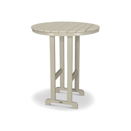 "Classics Round 36"" Bar Table in Sand"