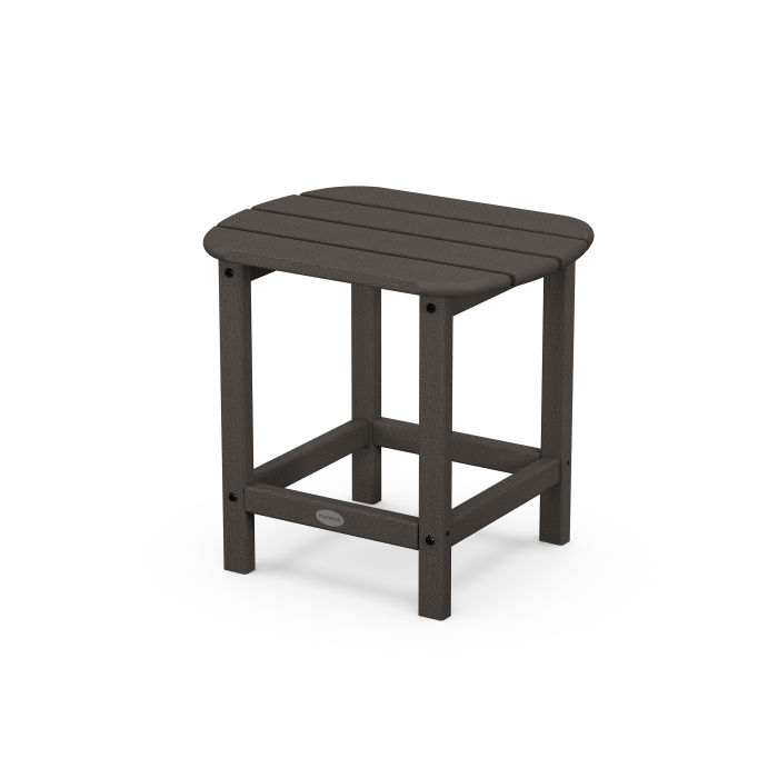 """South Beach 18"""" Side Table in Vintage Finish"""