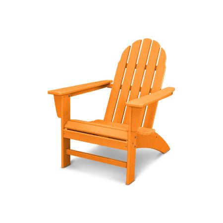 Vineyard Adirondack Chair in Vintage Tangerine