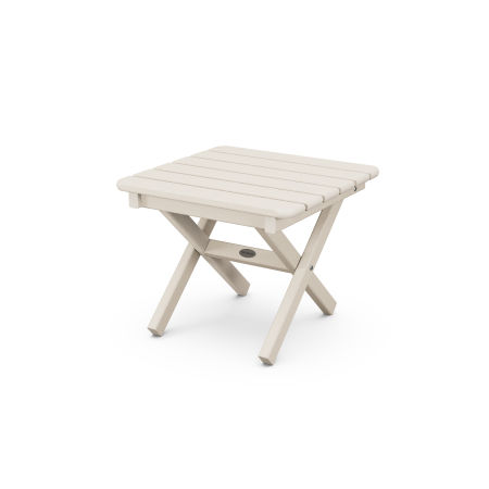 """18"""" Side Table in Sand"""