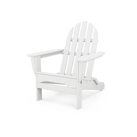 Classic Folding Adirondack in White