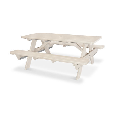 """Park 72"""" Picnic Table in Sand"""