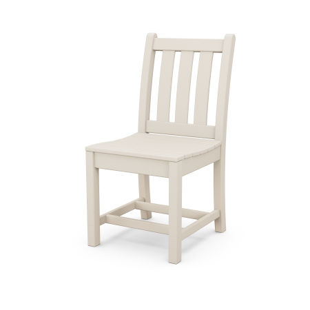 Traditional Garden Dining Side Chair in Sand