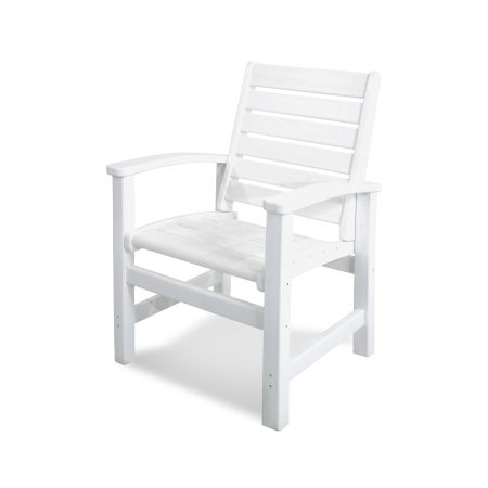 Signature Dining Chair in White