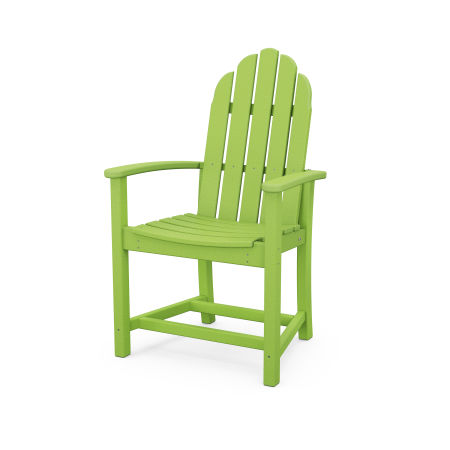 Classic Adirondack Dining Chair in Lime