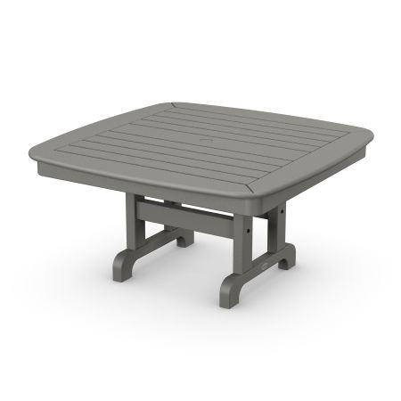 "Nautical 37"" Conversation Table in Slate Grey"