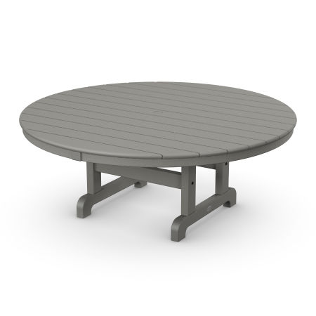 "Round 48"" Conversation Table in Slate Grey"