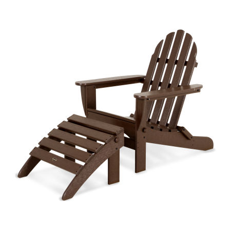Classic Adirondack 2-Piece Set in Mahogany