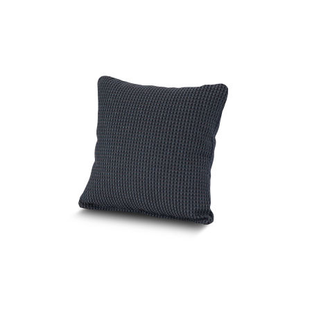 "16"" Outdoor Throw Pillow by POLYWOOD® in Depth Indigo"