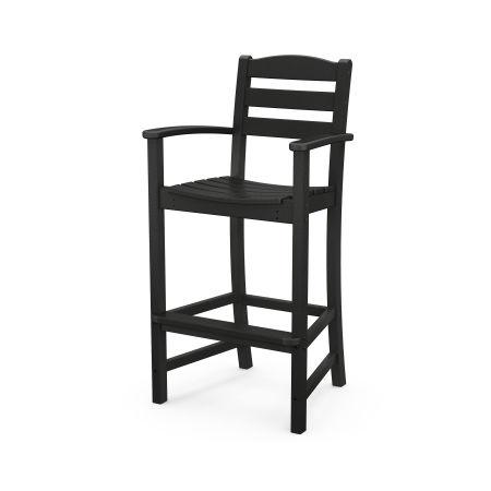 La Casa Café Bar Arm Chair in Black