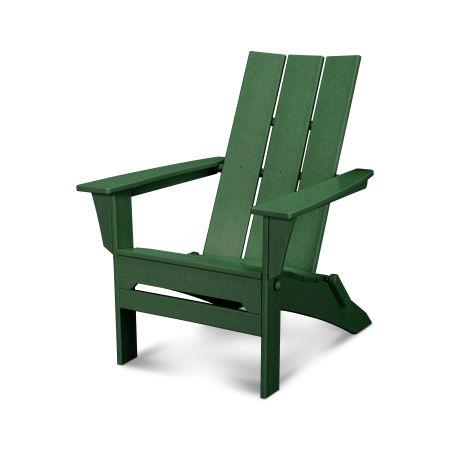 Modern Folding Adirondack in Green