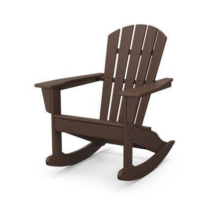 Palm Coast Adirondack Rocking Chair in Mahogany