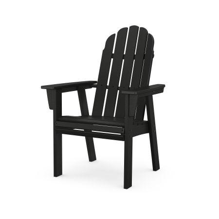 Vineyard Adirondack Dining Chair in Black