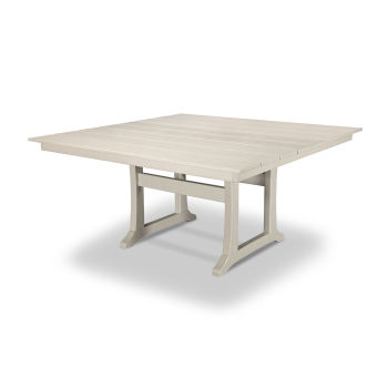 "Farmhouse Trestle 59"" Dining Table"