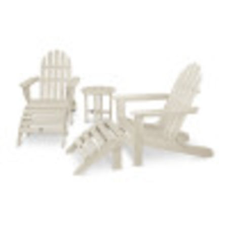 Classic Adirondack 5-Piece Casual Set in Sand