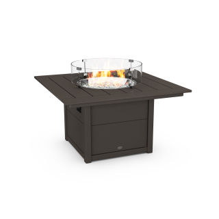 """Square 42"""" Fire Pit Table in Vintage Finish"""