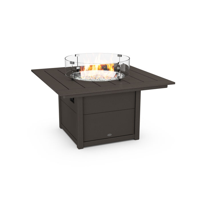 "Square 42"" Fire Pit Table in Vintage Finish"
