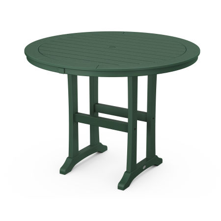 """48"""" Round Counter Table in Green"""