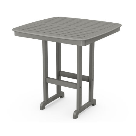 "Nautical 44"" Bar Table in Slate Grey"