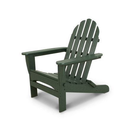 Classics Folding Adirondack in Green