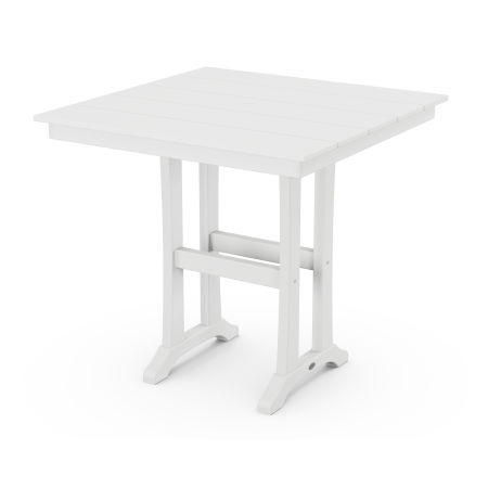 """37"""" Counter Table in White"""