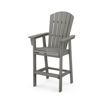 Nautical Curveback Adirondack Bar Chair