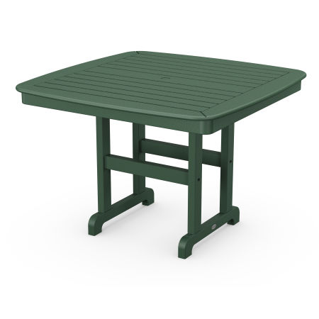 """Nautical 44"""" Dining Table in Green"""