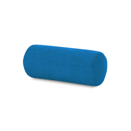 Outdoor Bolster Pillow in Cast Royal