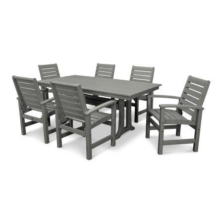 Signature 7 Piece Farmhouse Dining Set